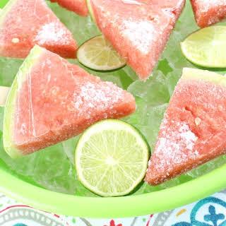 Boozy Watermelon Pops.