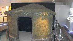 Reproducción de una vivienda del poblado  existente en el Centro de Interpretación.