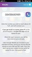 screenshot of WeQ4U 08 087 084 03 02 01 0845 0800 0844 0870 0871