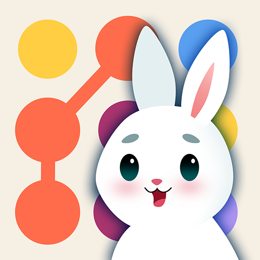 Bunny Connect: Match Colours, Numbers & Bubbles