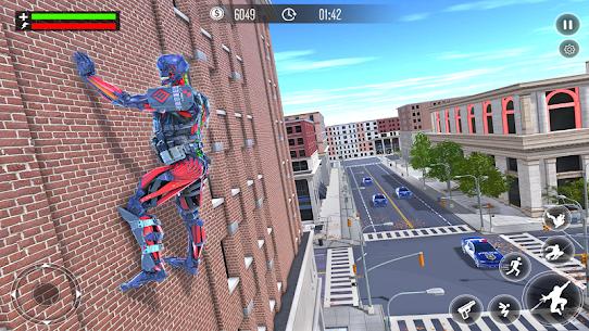 Robot Rope Hero Simulator – Army Robot Crime Game 4