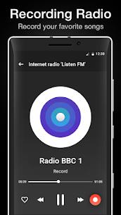 """Internet radio """"Listen FM"""" 2.3 MOD + APK + DATA Download 3"""