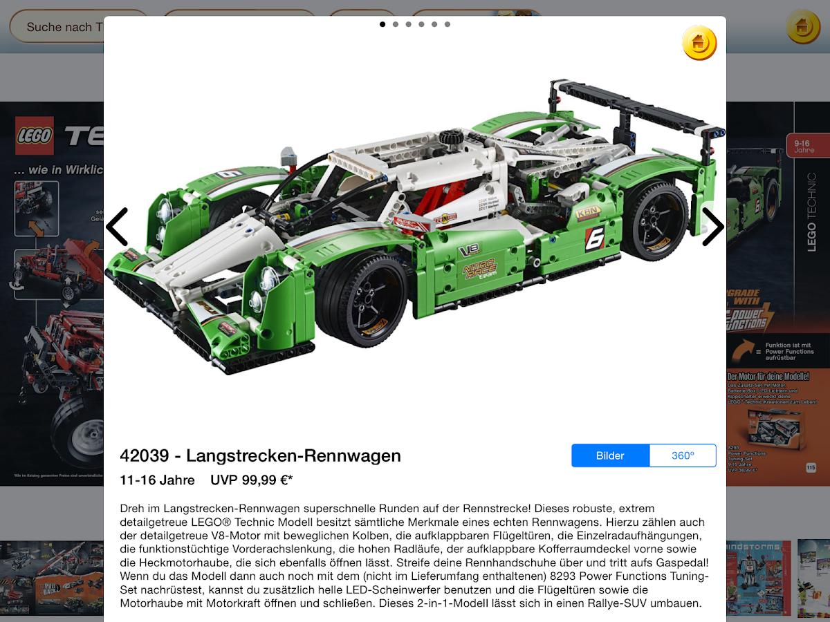 LEGO® 3D Katalog- screenshot