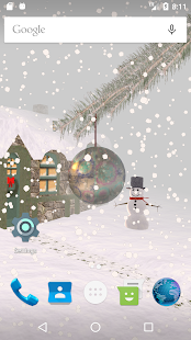 Winter Snow Live Wallpaper Free - náhled