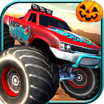 Monster Truck Racing Icon