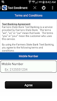 Screenshot of Farmers State Bank Mobile