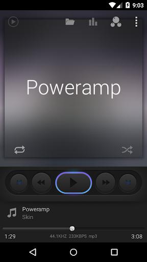 Poweramp Dark skin