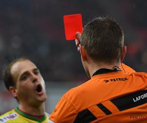 Laforge justifie ses trois cartes rouges lors de Standard - Ostende