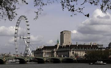 Photo: London Eye, Westminster Bridge and City Hall