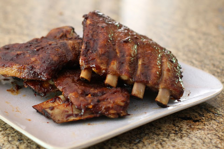 Oven Barbecued Pork Spareribs