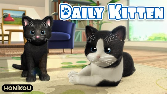 Daily Kitten : virtual cat pet 3.4 Mod APK Updated Android 1