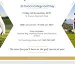 St Francis College Annual Golf Day : St Francis Bay Golf Club