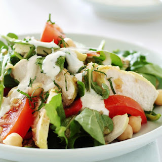 Chicken and Chickpea Salad
