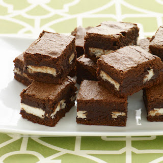 Peppermint Patty Brownies.