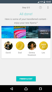 Xperia™ Transfer Mobile- screenshot thumbnail