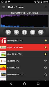 RADIO GHANA screenshot 1