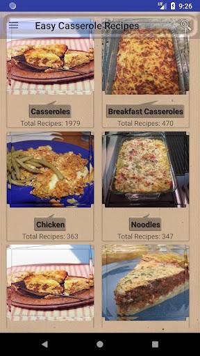 Easy Casserole Recipes 6.43 screenshots 1