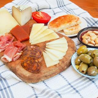 Spanish cheese plate #SundaySupper.