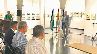 El consejero de Cultura, Miguel Ángel Vázquez Bermúdez, pregonó la Semana Cultural del casco histórico.