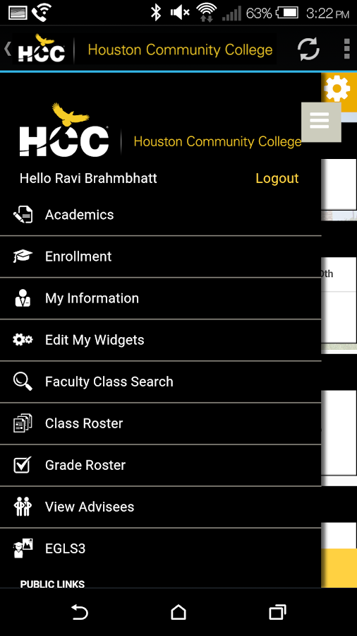 Houston Community College- HCC- screenshot