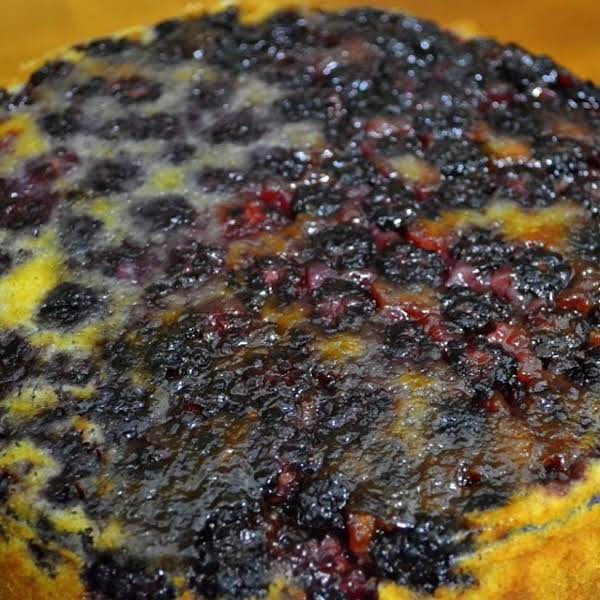Bon Appetit Blackberry Buttermilk Cake Recipe
