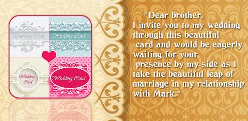 Wedding invitation card maker Apps on Google Play