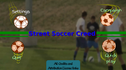Street Soccer Creed