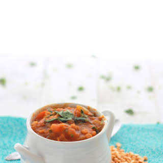 Lauki aur Chana Dal/ Bottle Gourd and Split Chick Peas Curry.