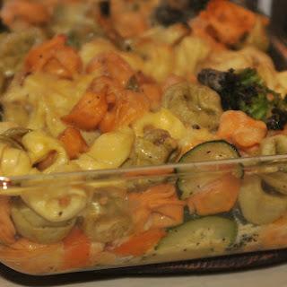 Tortellini Vegetable Casserole