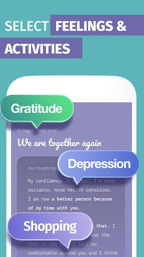Mood Tracker, Journal, Diary | Anti Depression app screenshots 2