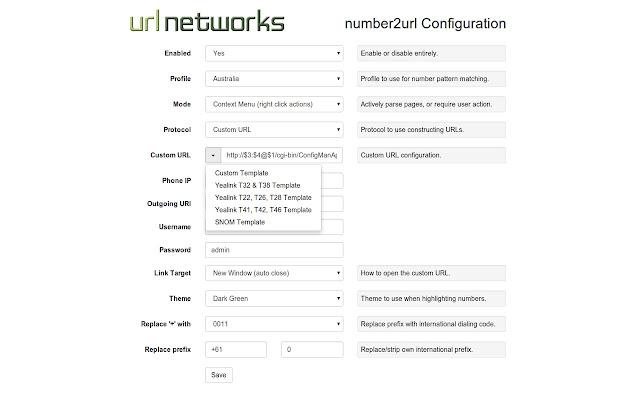 URL Networks number2url