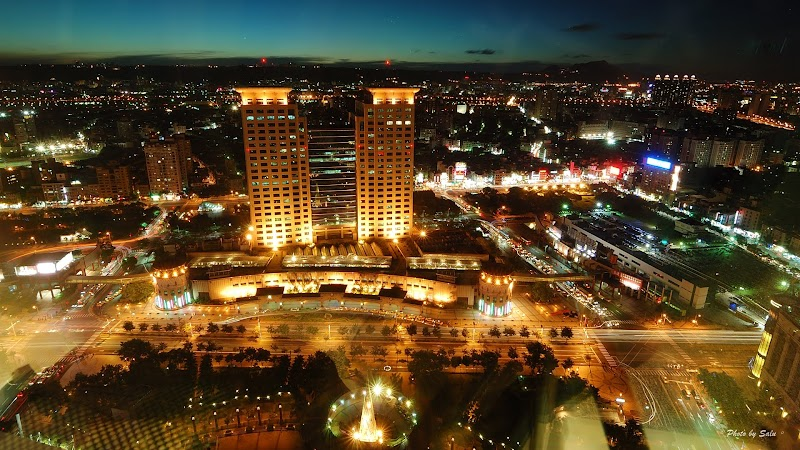 新北 新北市政府觀景台 夜景 攝