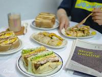 食穫。sandwich drink dessert
