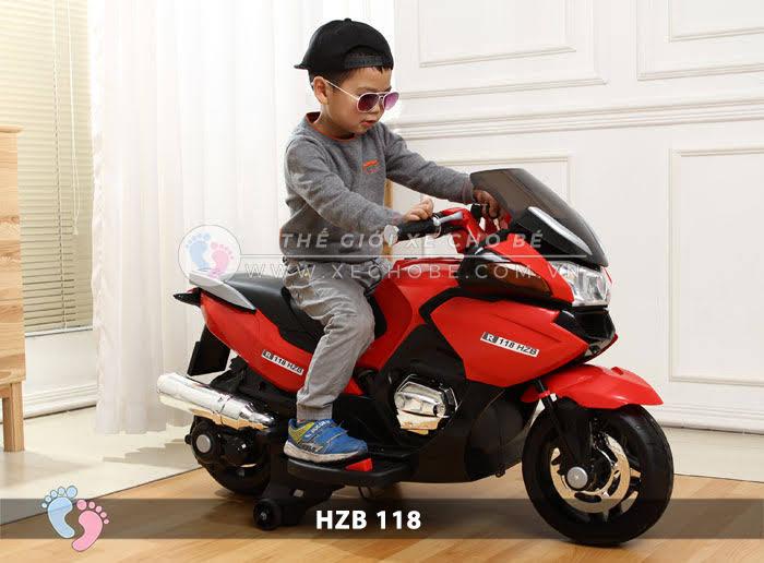 Xe mô tô điện cho bé HZB-118 8