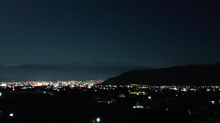 ジムニー JB23Wの山梨市,ほったらかし温泉,大弛峠,登山,夜景に関するカスタム&メンテナンスの投稿画像3枚目