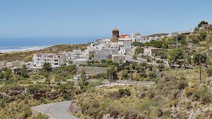 Panorámica del municipio almeriense de Enix. Foto de Pako Manzano.