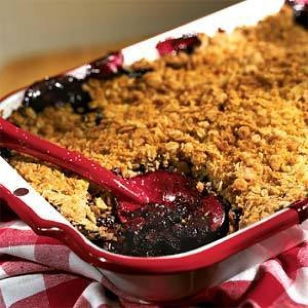 Marsha's Apple Or Blueberry Crisp Recipe