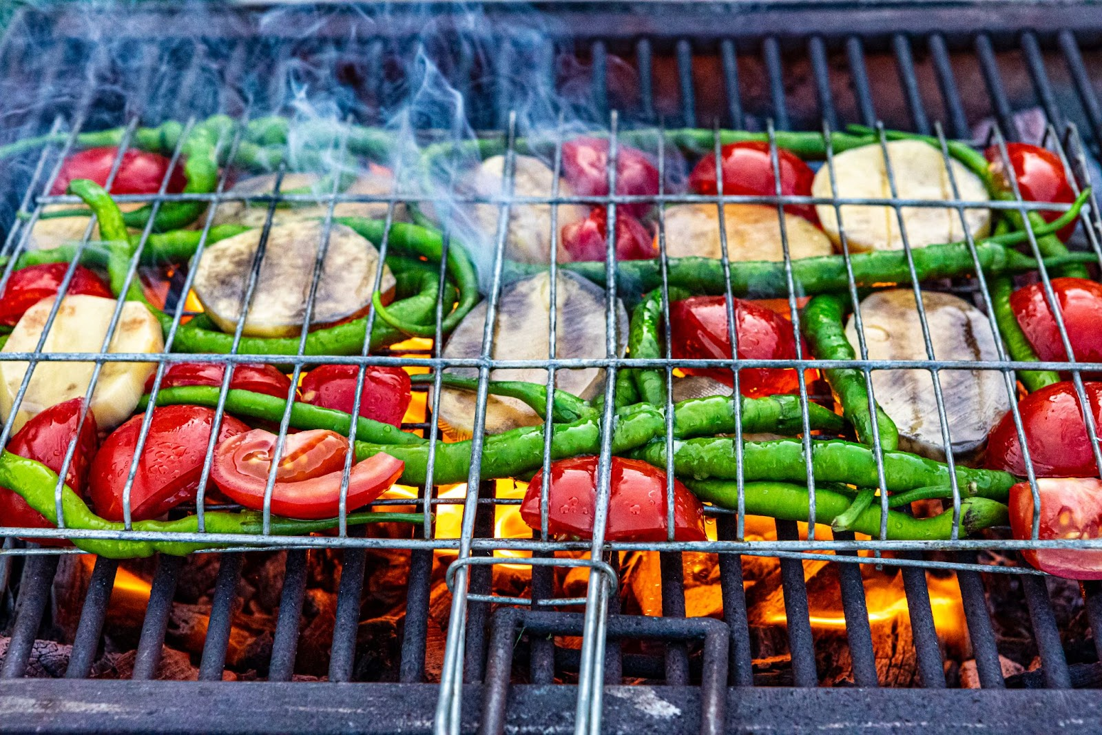 Imagem para mostrar como calcular carne para churrasco e também legumes e vegetais