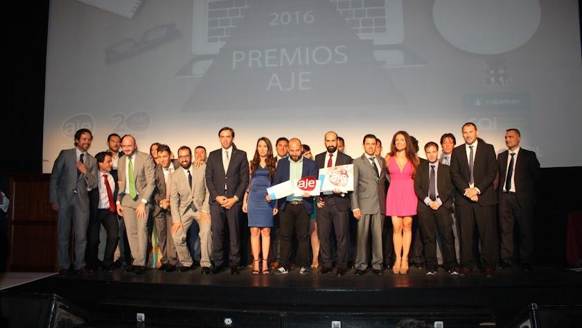 Entregados los 'Premios AJE 2016 Andalucía' en el Teatro Cervantes