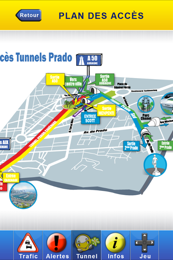 Tunnel Trafic- screenshot