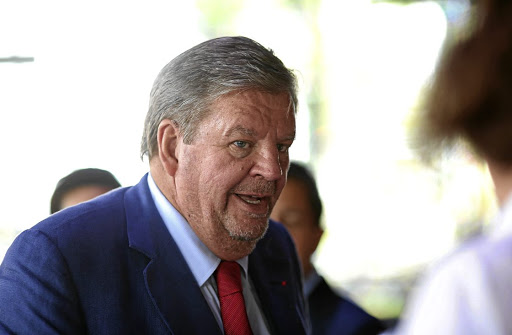 Johann Rupert.  Picture: BLOOMBERG/CHRIS RATCLIFFE