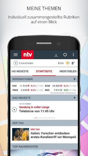 ntv Nachrichten 6.2.0.3 screenshots 5