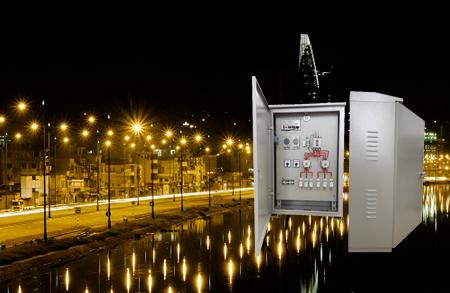 Tủ điện điều khiển chiếu sáng công cộng, ngoài trời