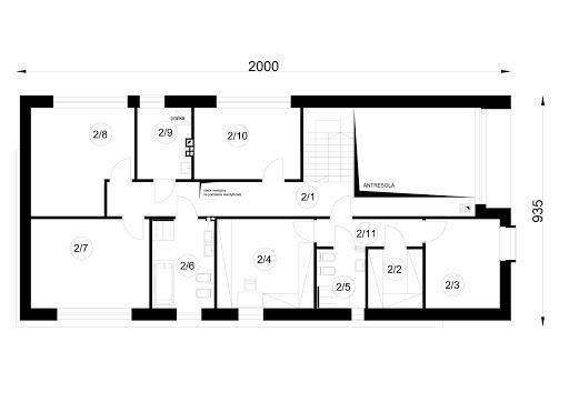 A-36 - Rzut piętra