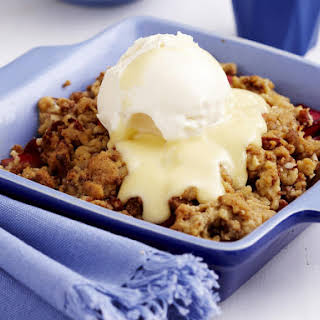 Spiced Fruit Crumble.