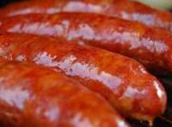 Linguica And Green Beans