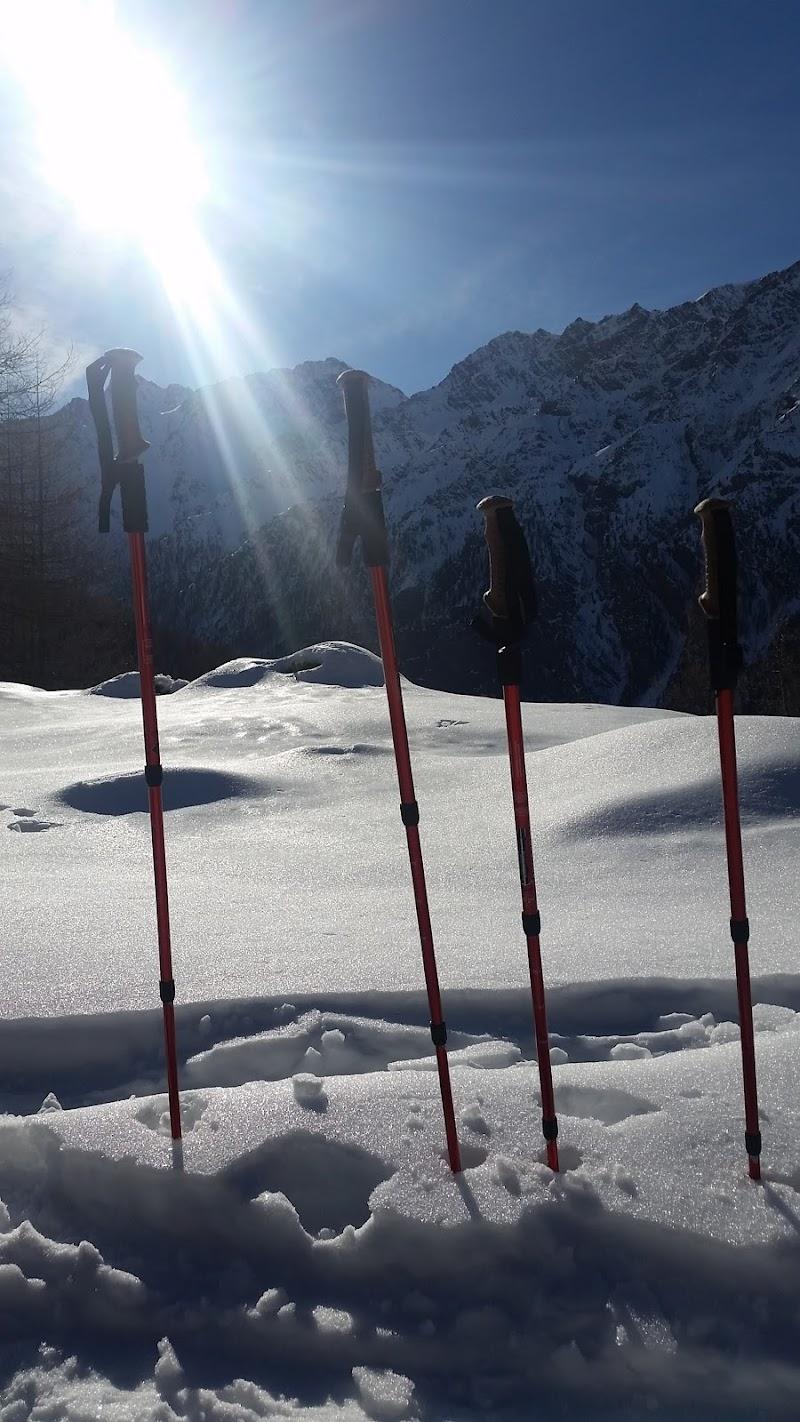 Trekking sulla neve di Agnus-ge