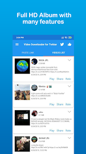 JetDownloader - Video Downloader for Twitter - náhled