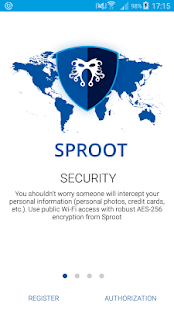 VPN SPROOT- screenshot thumbnail