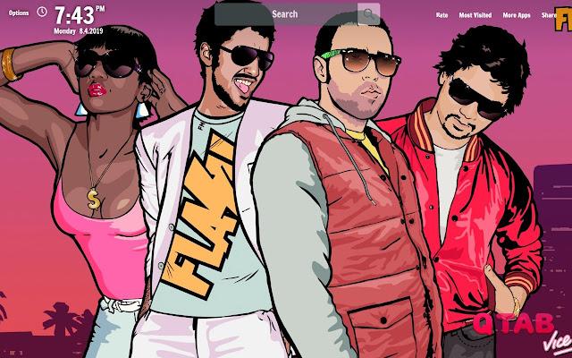 Gta Vice City New Tab Wallpapers